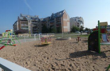 Plac zabaw w rejonie ul. Szpitalnej i Reymonta