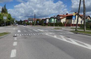 Budowa wyniesionego przejścia dla pieszych ul. Powstańców Wielkopolskich – 2012