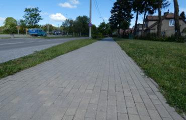 Likwidacja zapadnięć ciągów pieszych na ul. Sejneńskiej, Kościuszki, Zarzecze – 2012