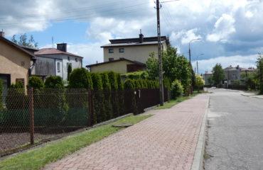 Remont chodnika na ul. Jaśminowej – 2013