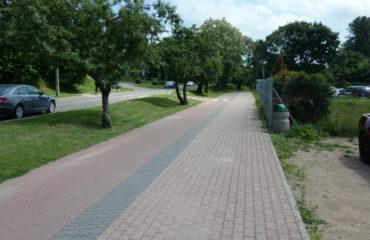 Remont chodnika, wykonanie ścieżki rowerowej na ul. Kolejowej