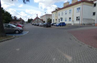 Modernizacji drogi dojazdowej do siedziby ZUS w Suwałkach