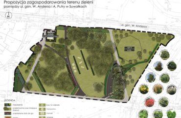 Koncepcja parku na północy Suwałk